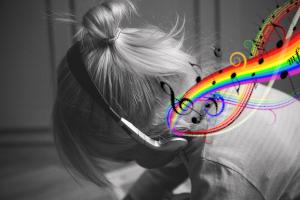 Musik an, Welt aus